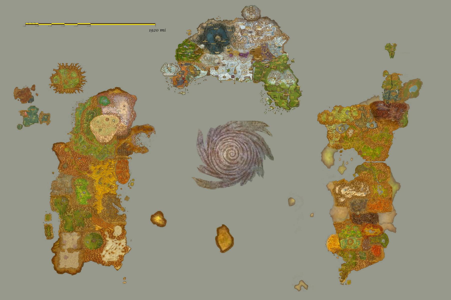 World of warcraft Azeroth world WoWWiki