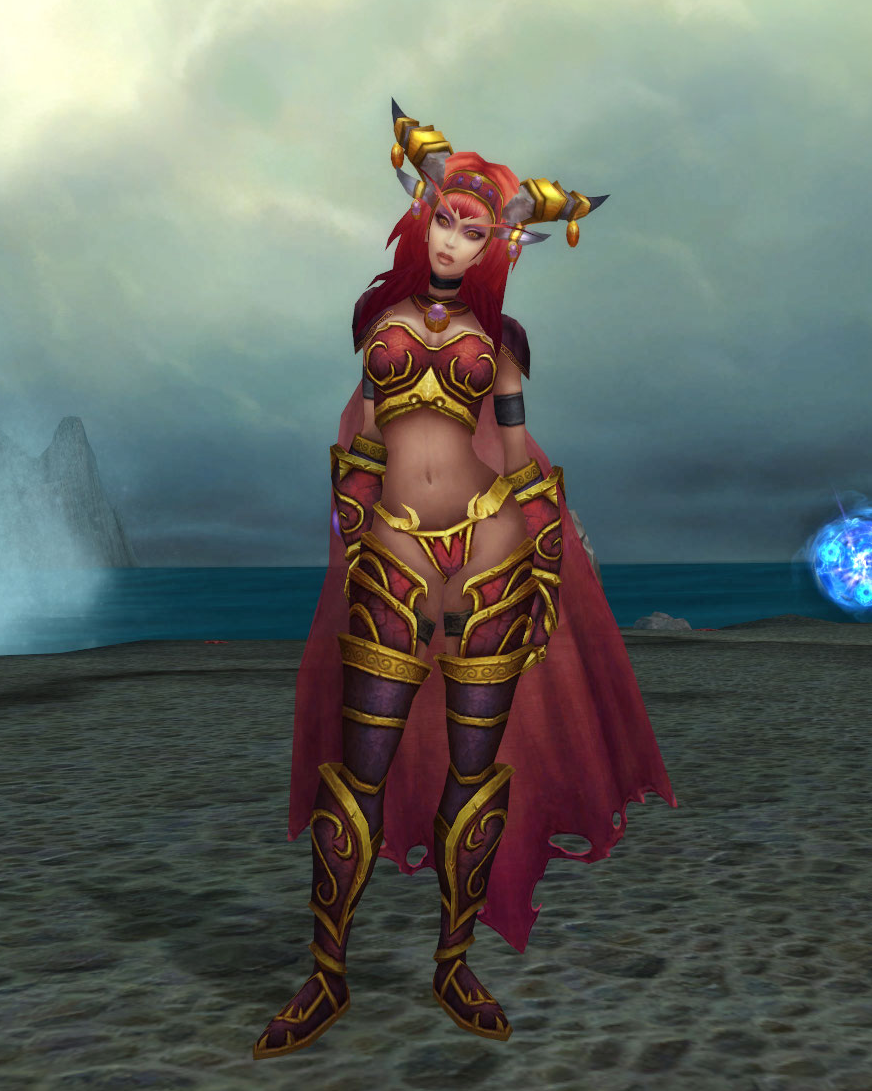 Alexstrasza and her canonic appearance. : heroesofthestorm