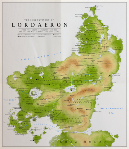 File:Detailed map of lordaeron by kuusinen-d8zth76.png