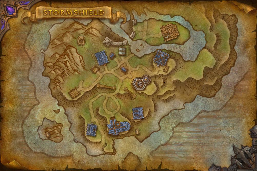 Warlords of Draenor maps | WoWWiki | FANDOM powered by Wikia