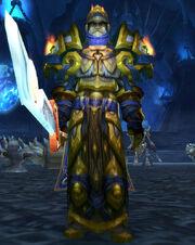 Tirion Fordring at Light's Hammer