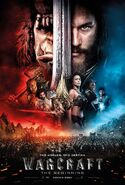 Warcraft UK Poster