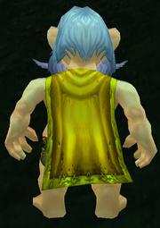Bright Cloak, Grass Background, Gnome Male