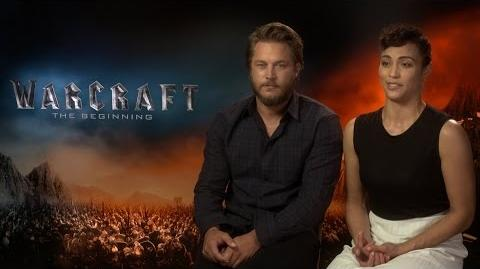Video Paula Patton Travis Fimmel On Getting Into The Roles On