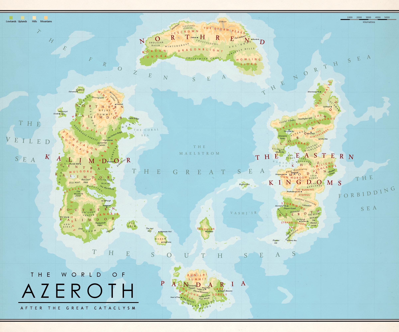Azeroth (world) | WoWWiki | FANDOM powered by Wikia