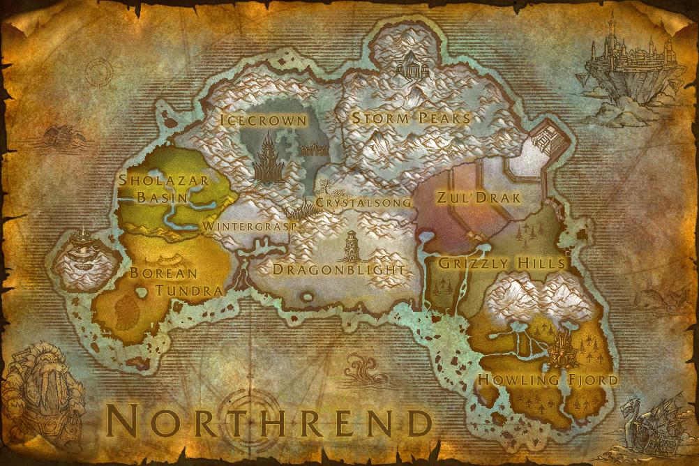Breakfast topic: the zones of northrend | engadget.