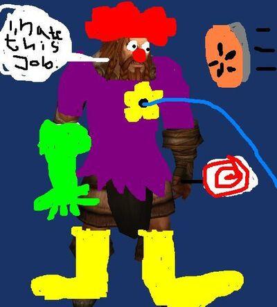 Crazy vrykul clown