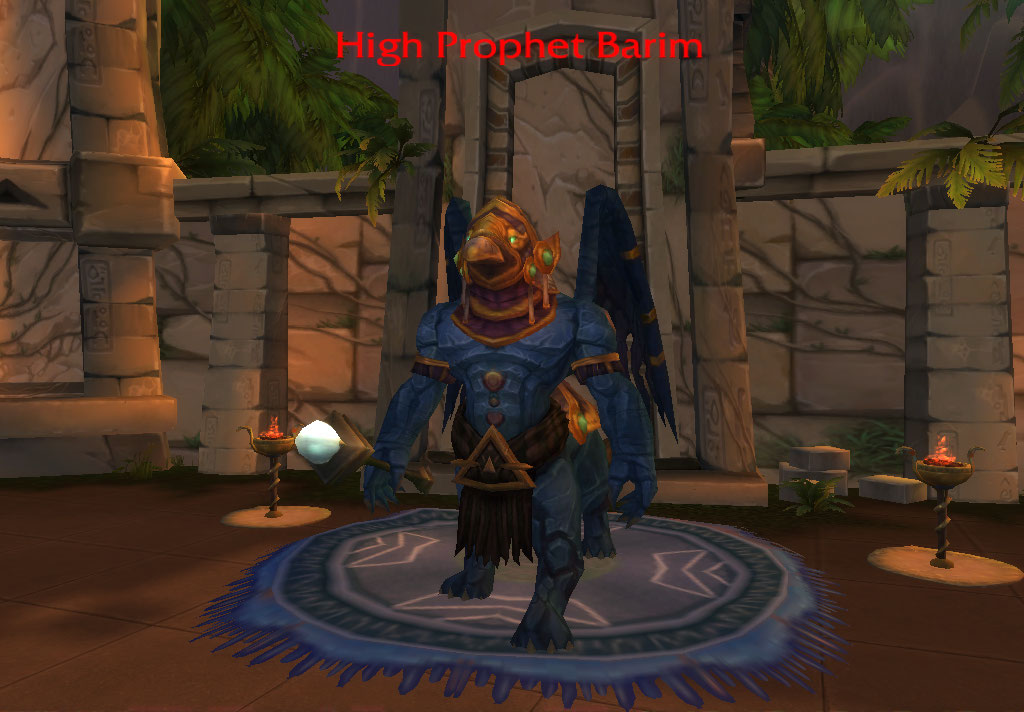High Prophet Barim | WoWWiki | FANDOM powered by Wikia