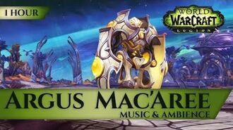 Argus, Mac'Aree - Music & Ambience (1 hour, 4K, World of Warcraft Legion)