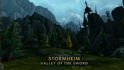 BlizzCon Legion - Stormheim Valley of the Sword