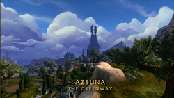 BlizzCon Legion - Azsuna The Greenway