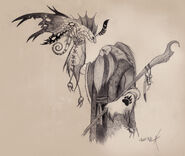 Druid of the claw and fairy dragon by anthonyavon-d5ktf6y