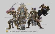 Captain Varo'then and his men