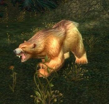 Ferocious Grizzled Bear