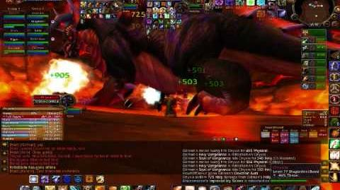 Paladin Tanking Onyxia - Onyxia's Lair (Level 80) - World of Warcraft