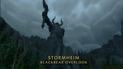 BlizzCon Legion - Stormheim Blackbeak Overlook