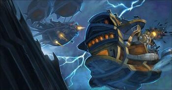 Icecrown Gunship Battle