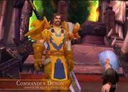Commander Duron interview