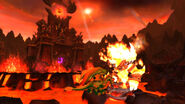 Ysera and Ragnaros at Sulfuron Spire