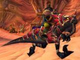 Whistle of the Black War Raptor