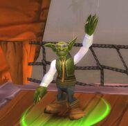Navigator Sparksizzle waving