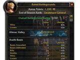 Rated battlegrounds
