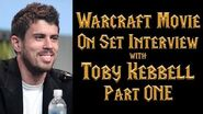 Toby Kebbell (Durotan) Warcraft Movie On-Set Interview - Part 1