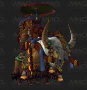 Travelers yak mount