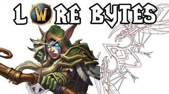 Warcraft Legion Lore - Thas'dorah, Legacy of the Windrunners! Hunter Artifact