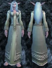 Aurora Robe, Stone Background, NE Female