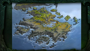 BlizzCon Legion - Azsuna map concept art