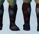 Sandals of Crimson Fury