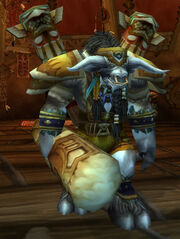 Cairne with totems