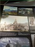 Chinese WarcraftMovie exhibition-cathedral