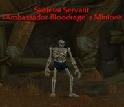Skeletal Servant