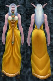 Elegant Robes, Stone Background, NE Female