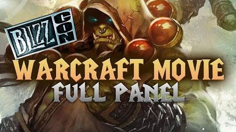Warcraft Movie Panel Full - World of Warcraft Movie - Blizzcon 2013 HD
