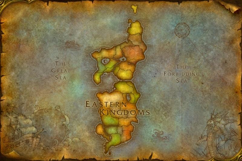 Eastern Kingdoms/Imagemap | WoWWiki | FANDOM powered by Wikia