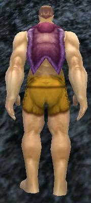 Scaled Cloak, Stone Background, Human Male