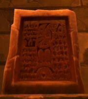 Sixth Mosh'aru Tablet