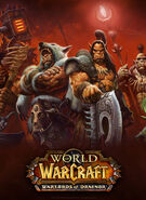 World of Warcraft Warlords of Draenor-Box-Art-Standin