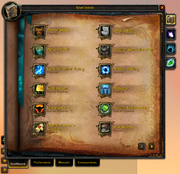 Spellbook & Abilities-Spellbook tab-General tab