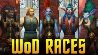 Warlords of Draenor New Models - All But the Blood Elves (WoW WoD Gameplay Commentary)