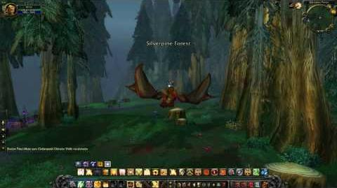 Cataclysm Zone Silverpine Forest