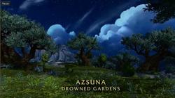 BlizzCon Legion - Azsuna Drowned Gardens
