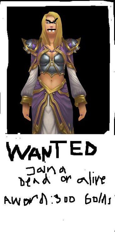 WANTED jaina