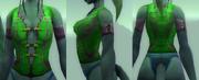 Eldr'naan jerkin draenei female