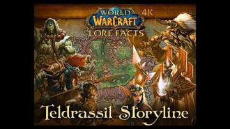 Teldrassil Storyline with Fun Lore Facts in World of Warcraft 4K