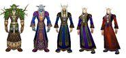 Oscaron - transformation from night elf to blood elf