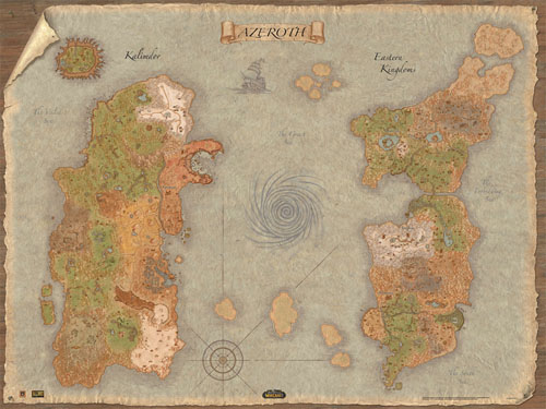 World of warcraft world map wowwiki fandom powered by wikia world of warcraft world map gumiabroncs Choice Image